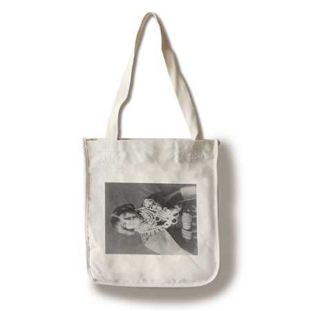 Zuni Native American Indian Girl with Necklaces Photograph (100% Cotton Tote Bag - Reusable) ()
