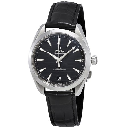 Pre-owned Omega Seamaster Aqua Terra Automatic Black Dial Men's Watch