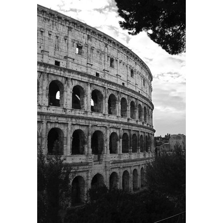 LAMINATED POSTER Roman Europe Rome Italy Coliseum Colosseum Poster Print 24 x 36