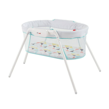 Fisher-Price Stow 'N Go Bassinet with Travel Bag Set