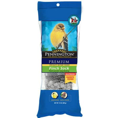 Pennington Finch Sock Wild Bird Feed  13 Oz