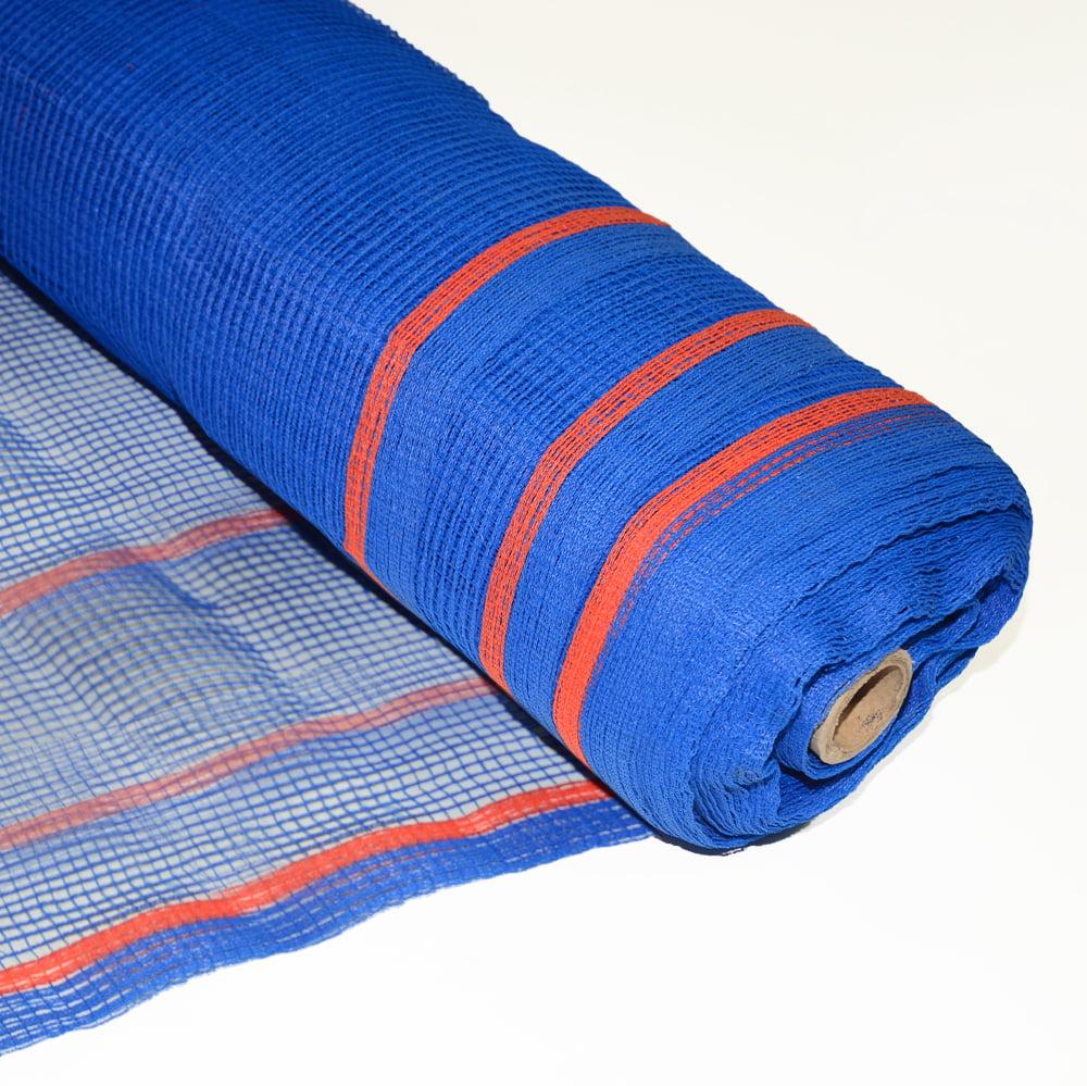 "Boen Safety Netting Blue 1/4"" Holes FR 8.6' x 150'"