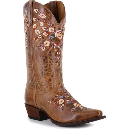 156ba2fc702 shyanne women's floral embroidered western boot snip toe - bbw217