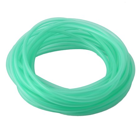 Aquarium Fish Tank Rubber Flexible Airline Tube Oxygen Pipe Green 7.5m Length