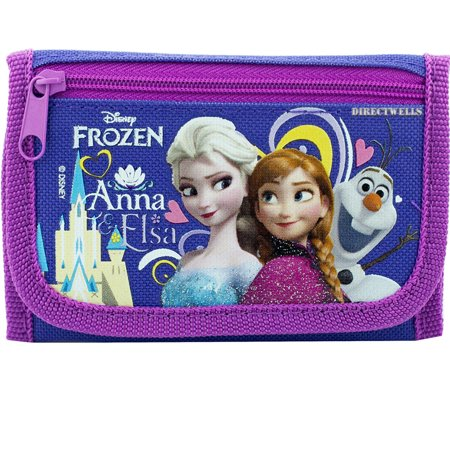 Frozen Elsa Anna and Olaf Purple Trifold - Anna Elsa And Olaf Costumes