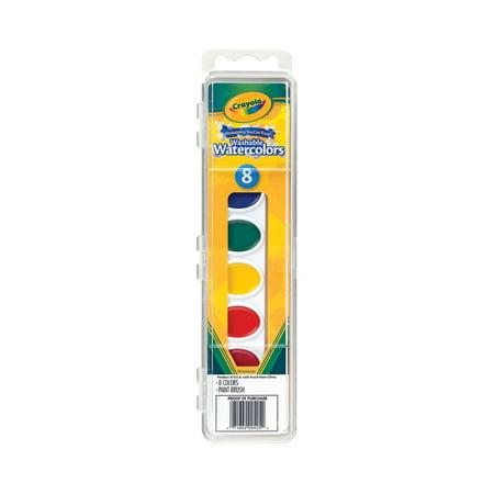 Water Color Set (Crayola Washable Watercolor Set,)