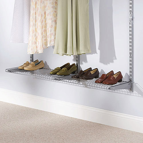 Rubbermaid Configurations Add-On Shelf Kit, Titanium