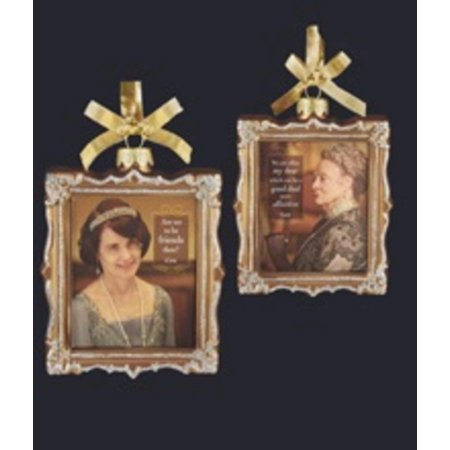 "4"" Downton Abbey Gold Glass Cora Crawley and Violet ..."