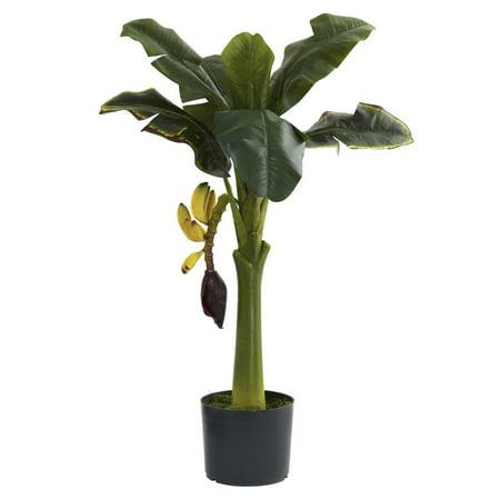 Nearly Natural 3' Banana Tree (Artificial Banana Tree)