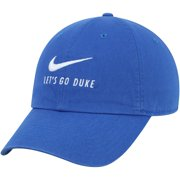 Duke Blue Devils Nike Big Swoosh Heritage 86 Team Adjustable Hat - Royal - OSFA