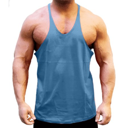 e61d755a9d443f A Men s Stringer String Tank Royal Blue X-Large - Walmart.com