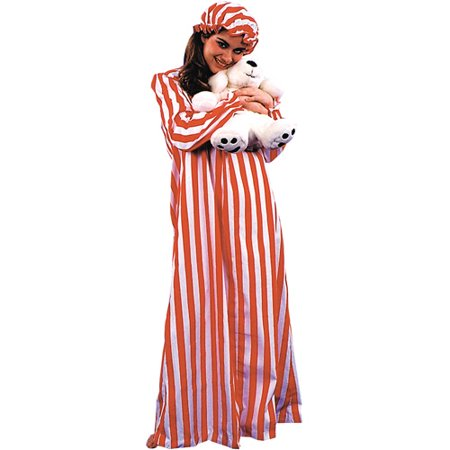 Nightgown And Cap Ladies - Wendy Nightgown Costume