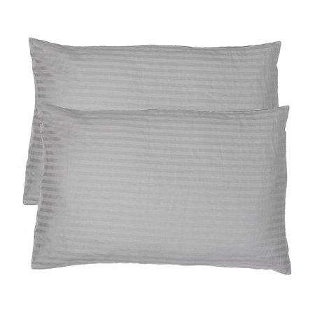 Unique Bargains 2 Pcs Bedroom Cotton Blends Waist Cushion Pillow Cover Pillowcase 40