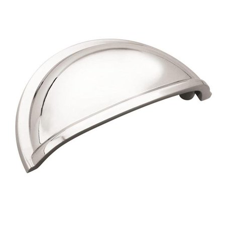 Amerock 10BX5301026 3 in. Center to Center Polished Chrome Cabinet Cup Pull - Pack of 10 - image 1 de 1