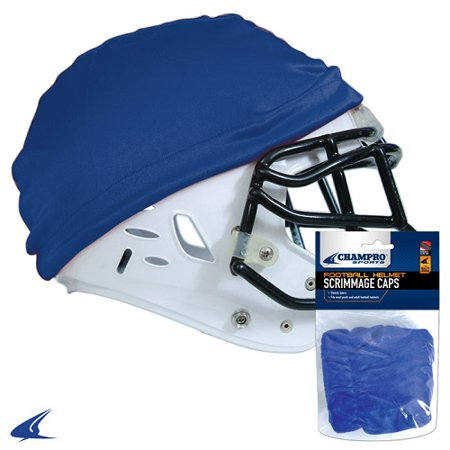 Blue Football Helmet (CHAMPRO Football Helmet Scrimmage Cap)