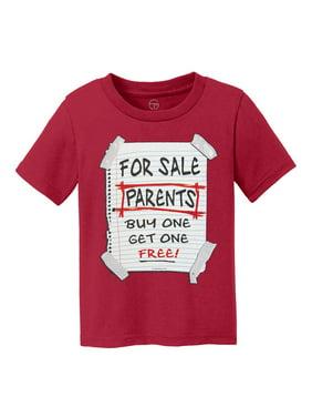 Parents For Sale Kids Cotton T-Shirt