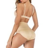 SAYFUT Women's High Waist Brief Padded Lifter Butt Panty Extra Firm Enhancer Body Shorts Shaper Underwear