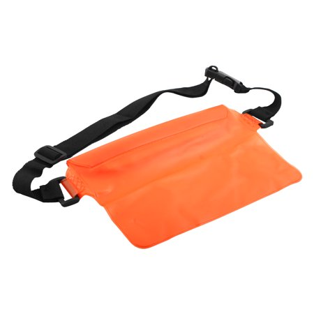 Portable Swimming Kit Water Resistant Phone Bag Pouch 15.3 x 21.8cm Orange - image 3 of 3