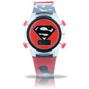 Superman Flashing Light Up Watch
