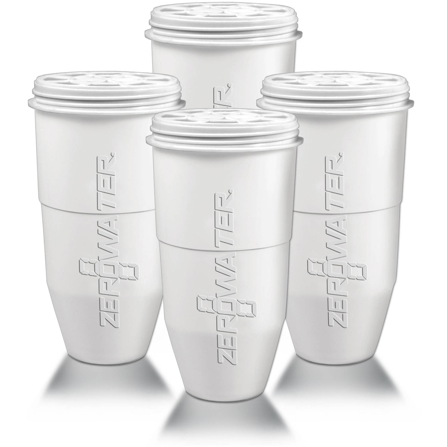 ZeroWater Replacement Filter for Pitchers, 4-Pack
