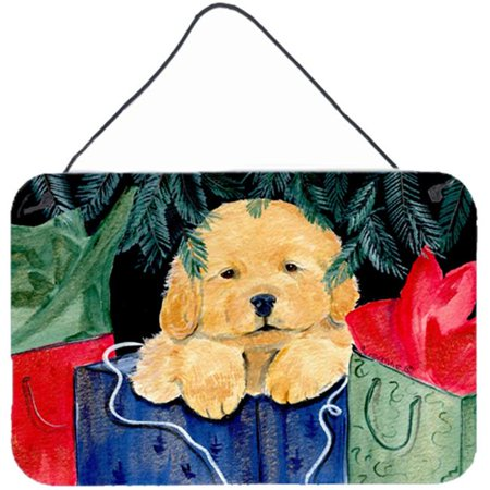 Golden Retriever Indoor Aluminium Metal Wall Or Door Hanging Prints - image 1 of 1