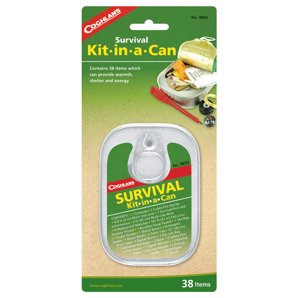 Coghlans Survival Kit-in-a-Can by Coghlans