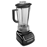 KitchenAid KSB1575OB 5-Speed Diamond Blender with 60-Ounce BPA-Free Pitcher - Onyx Black