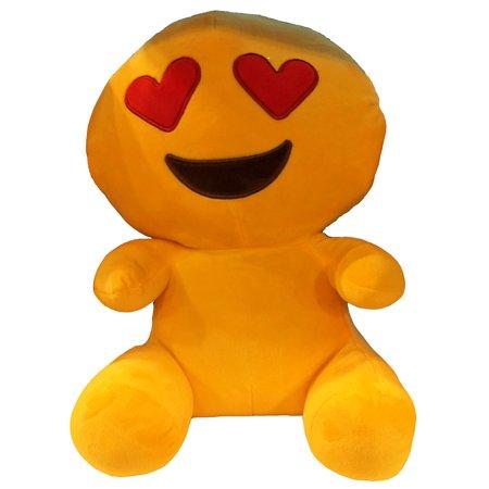Heart Eyes Emoji 14 inch Plush Toy