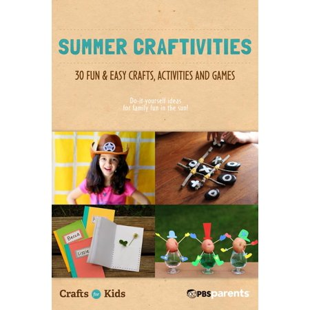 Summer Craftivities: 30 Fun & Easy Crafts, Activities & Games - eBook - Fun And Easy Halloween Crafts