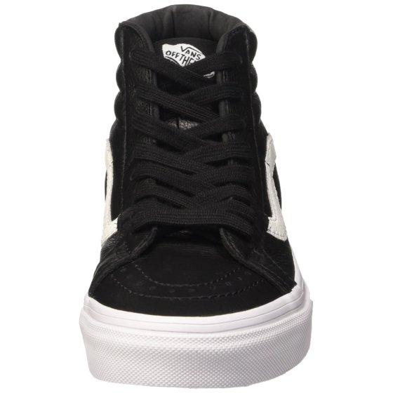 babb50f4a2 Vans - Vans SK8 Hi Reissue Premium Leather Black Men s Skate Shoes ...