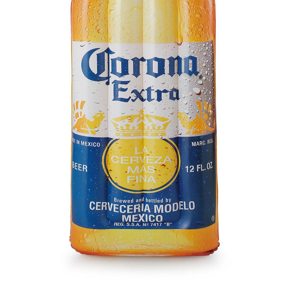 "Corona Beer Bottle 68.5"" x 22"" Inflatable Pool Float Mat + Lime Floating Cooler - image 6 de 12"