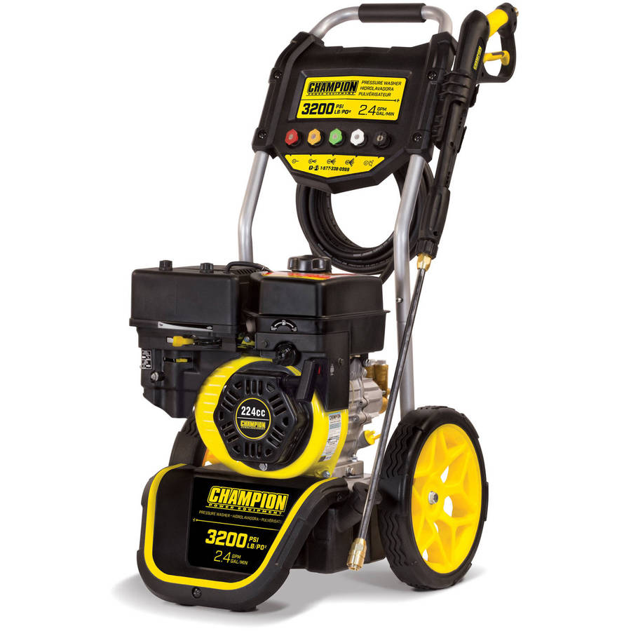 Champion 100384 3200-PSI 2.4-GPM Dolly-Style Gas Pressure Washer by Champion Power Equipment