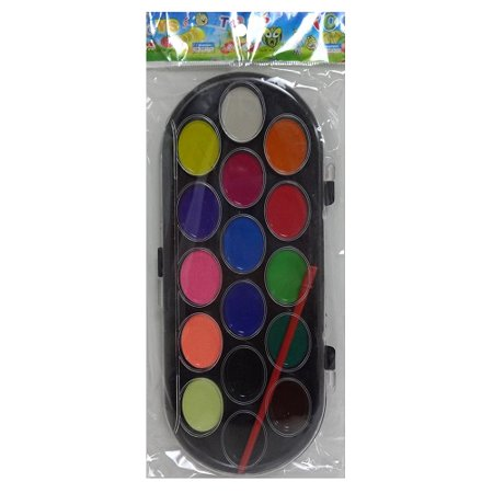 New 811107  Water Color W- Pen 16Ct (36-Pack) Art Brush Supplies Cheap Wholesale Discount Bulk Stationery Art Brush Supplies Facial (Wholesale Art Supplies)