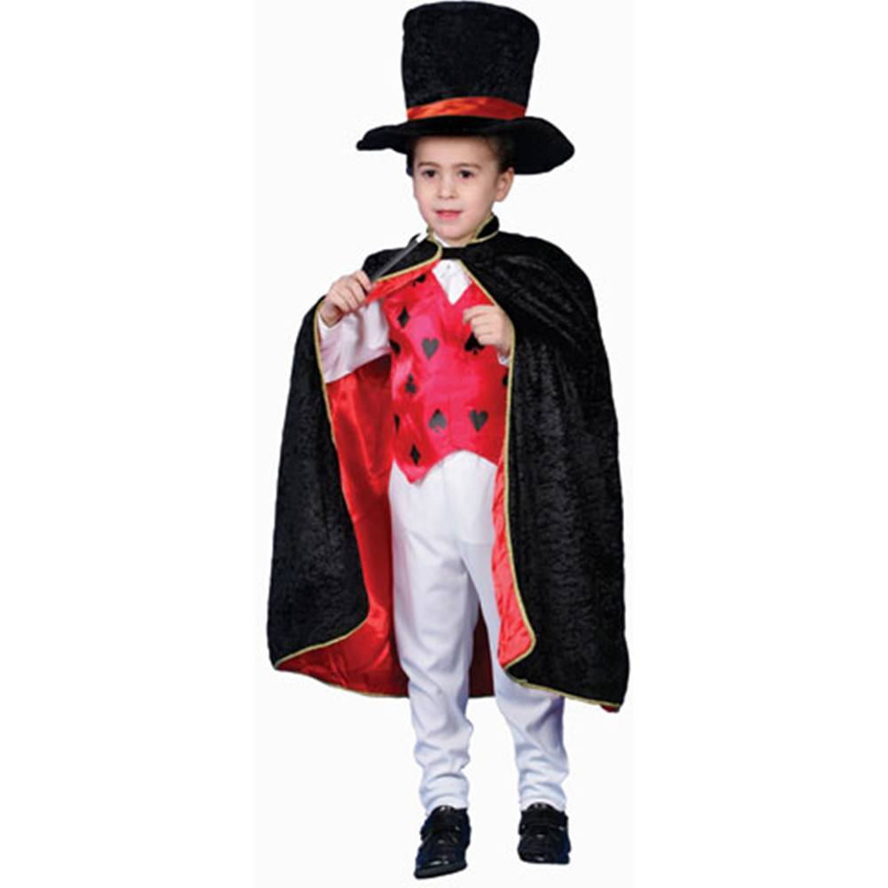 Dress Up America Deluxe Magician Dress Up Children's Costume Set