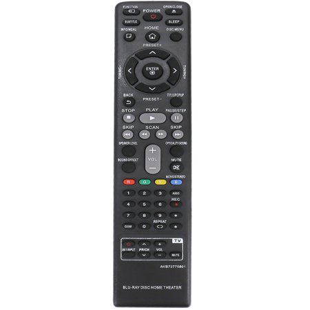 New AKB73775801 Replaced Remote Control compatible with LG Blu-ray Home Theater BH5140S BH5440P