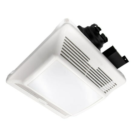 Luvoni 90 CFM Bathroom Exhaust Fan, 1 Sones Quiet Operation, Built-in LED light, Ceiling Mounted
