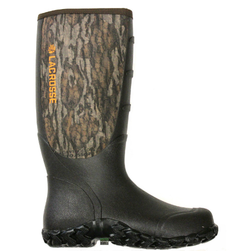 LaCrosse Alpha Lite Bottomland Camo Waterproof Boots With Removable EVA Footbed Size 12 by LaCrosse Footwear