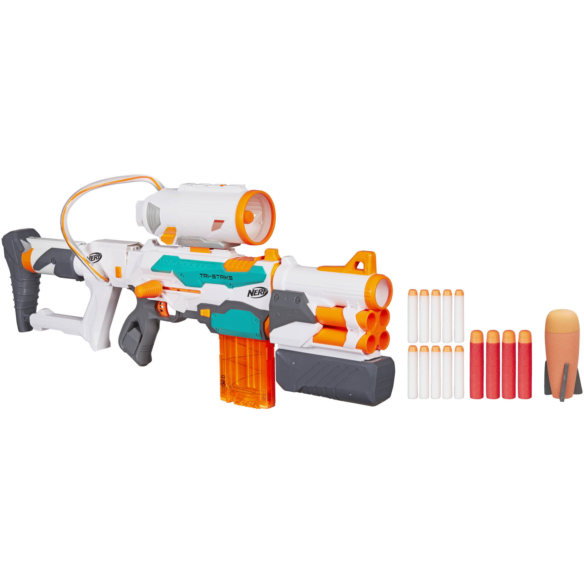 Amazon.com: Nerf N-Strike Elite Stryfe Blaster (Colors May Vary): Toys &  Games