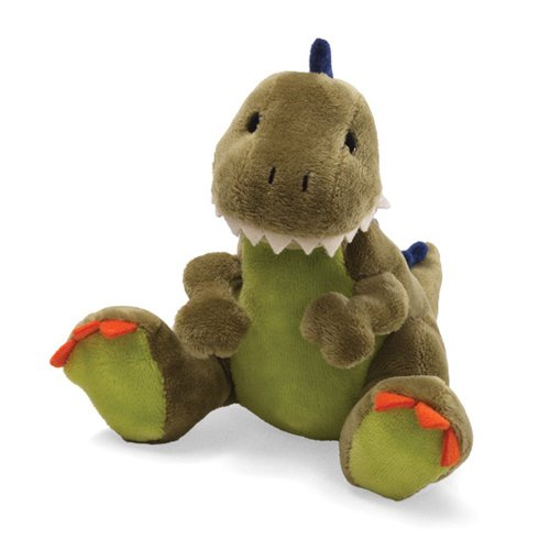 Gund Animal Chatter Dino Roars with Sound Plush Toy - T-Rex Dinosaur