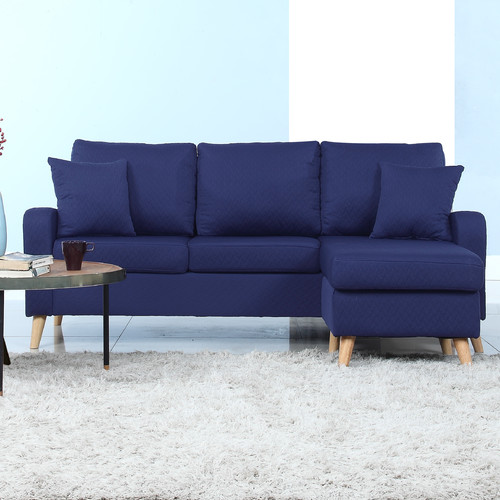 Madison Home USA Reversible Chaise Sectional Walmart