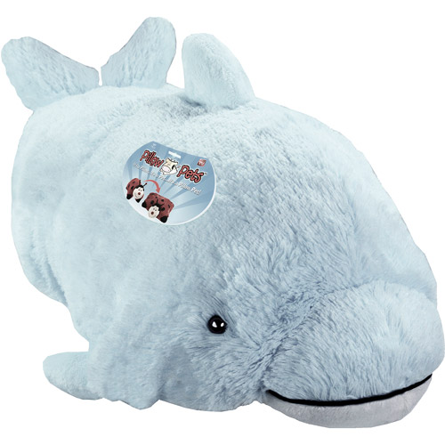 As Seen on TV Pillow Pet Pee Wee, Squeaky Dolphin
