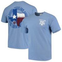 Texas A&M Aggies Flag Flag Local Comfort Color T-Shirt - Blue
