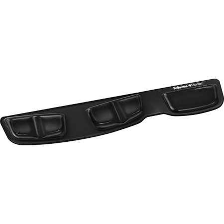 Palm Keyboard Support (Fellowes, FEL9183201, Keyboard Palm Support with Microban® Protection, 1, Black )