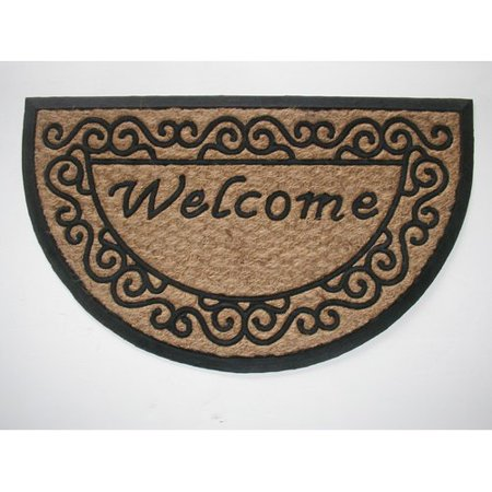 Geo Crafts, Inc Tuffcor Panama Scroll Welcome Doormat