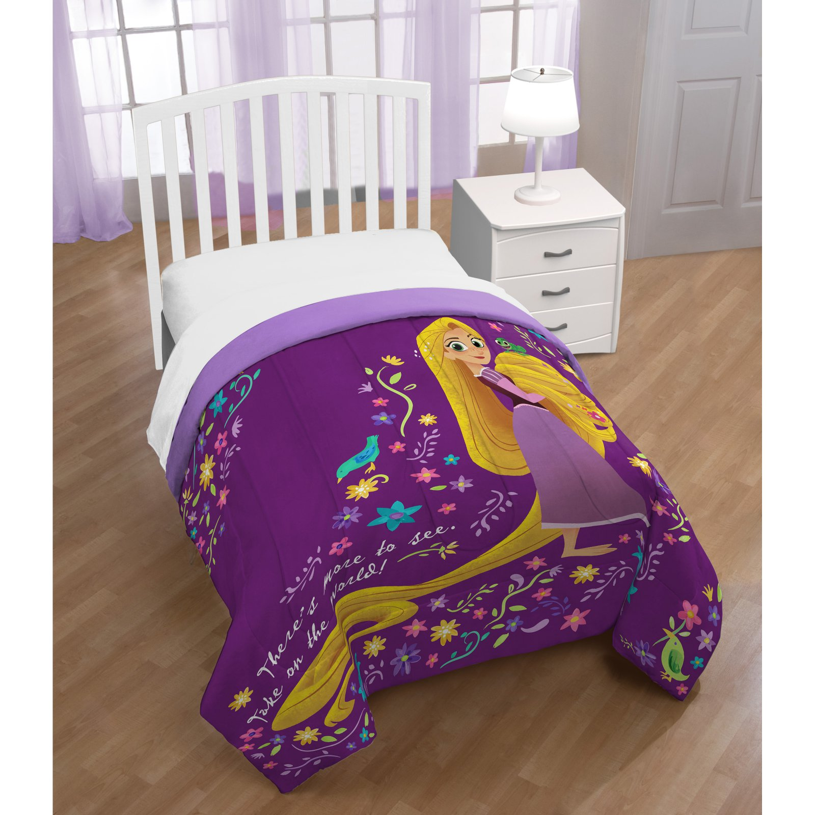 Tangled There Is More Reversible Comforter by Disney