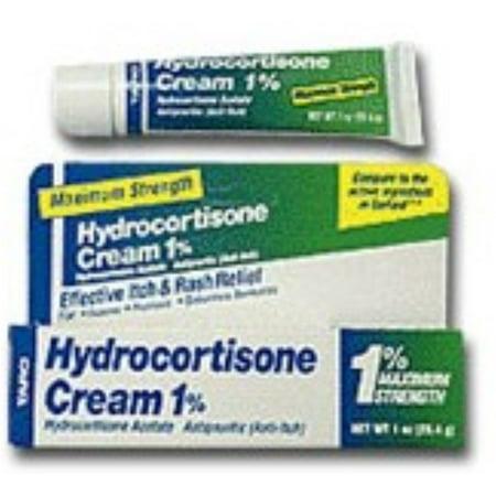 Taro hydrocortisone 1% Crème Force maximale 1 oz