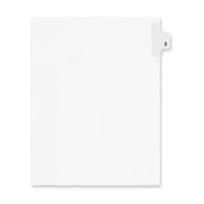 Inc.  Index Dividers- Number 76- Side Tab- .505 Cut- Letter- 25-ST- WE - image 1 de 1