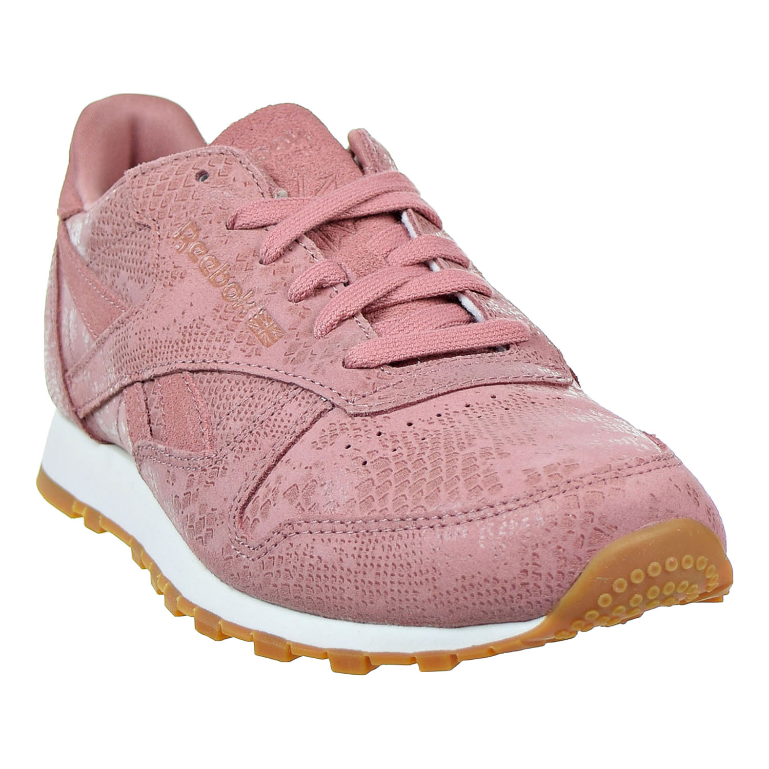 9ecf474bac359 Reebok - Reebok Classic Leather Clean Exotics Women s Shoes Sandy  Rose Chalk Gum bs8226 - Walmart.com