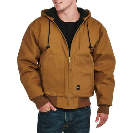 Moda Insulated Coat - Men's Insulated Duck Hooded Jacket