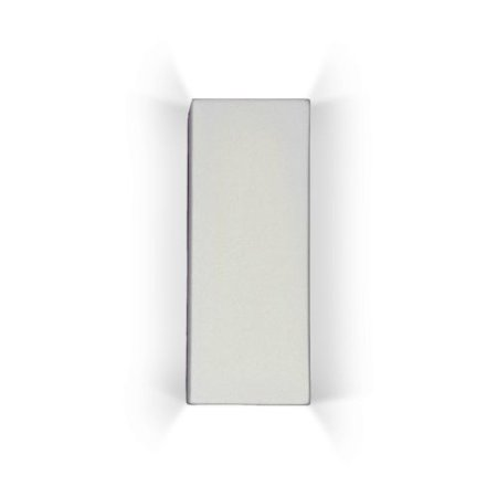 """Image of A19 1803 Modern Sconce """"Flores"""" Cube Ceramic Wall Light from the Islands of Ligh"""